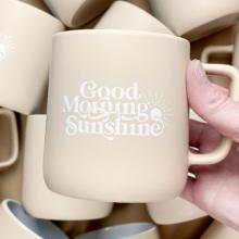 Good Morning Sunshine Stoneware Mug