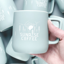 Sunrise Coffee Stoneware Mug