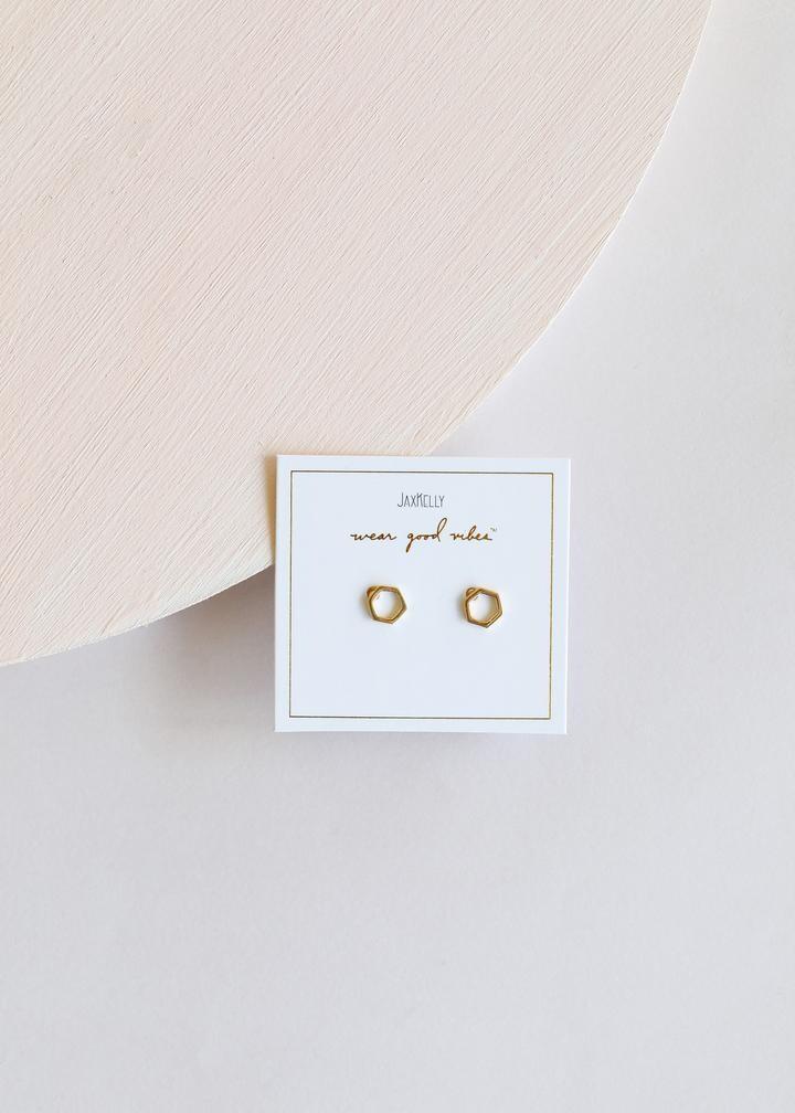 jaxkelly - minimalist hexagon