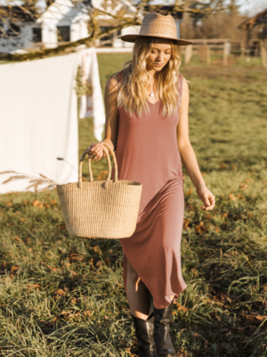 Jackson Rowe - Larch Dress in Clay