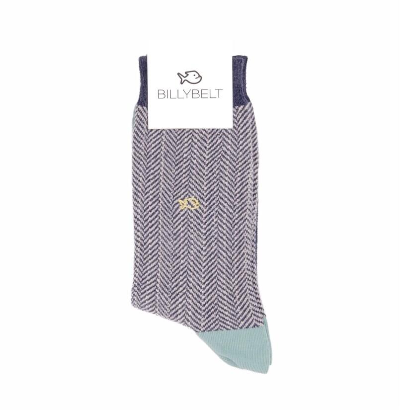 Billy Belt - Herringbone Socks