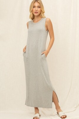 VOY - Gray Tank dress