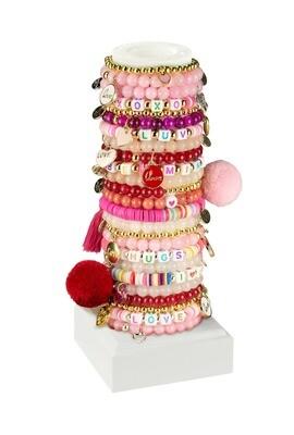 Little Miss Zoe - LOVE Heart kids bracelets