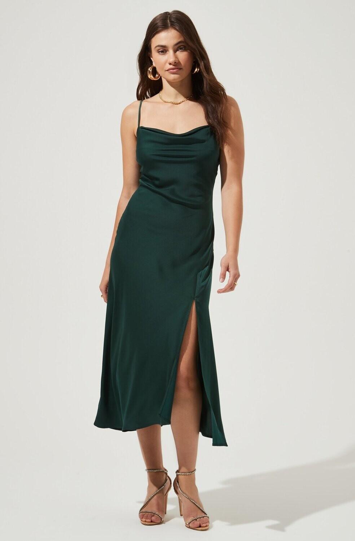 ASTR - Gaia Dress - Hunter Green