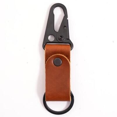 RUSTICO - Clip Leather Keychain