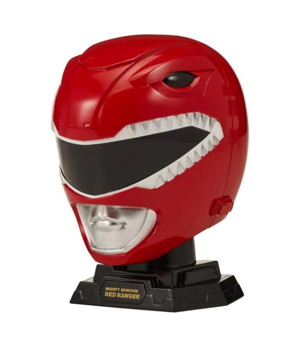 obra maestra carga Alivio  Casco Power Ranger Rojo