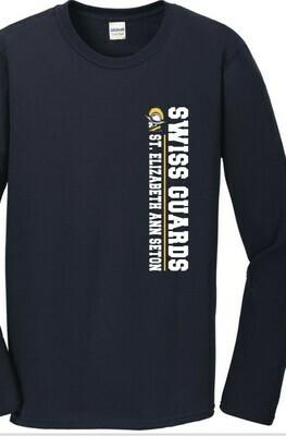 Swiss Guard Vertical Navy Long Sleeve