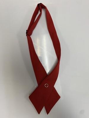 Girls K-5 Red Uniform Cross Tie
