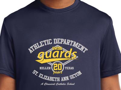 Dri-Fit Athletics Fan Shirt