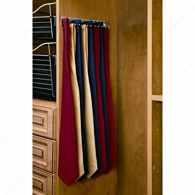 Lateral Fixed Tie Rack