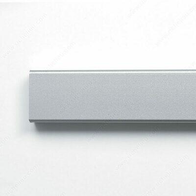 Rectangular Closet Rods - Aluminum