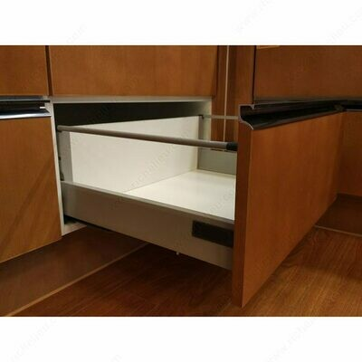 """Standard 908 Drawer Sets with 135 mm (5 5/16"""") Height and Gallery Rod"""