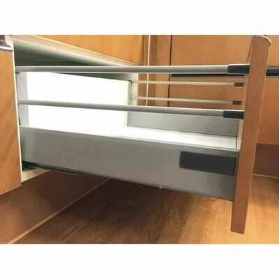 """Standard 908 Drawer Sets with 199 mm (7 26/32"""") Height and Two Gallery Rods"""