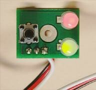 Bicolor Fascia Controller for Quad/QuadLN/Octopus III Red/Green