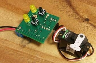 Singlet Servo DCC Accessory Decoder without Servo
