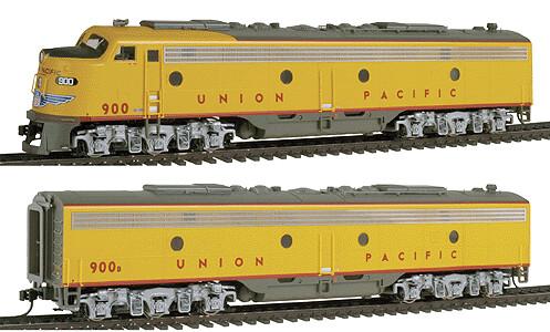 "Life Like ""N"" EMD E8/9 Union Pacific #954 / #973B A/B Set"