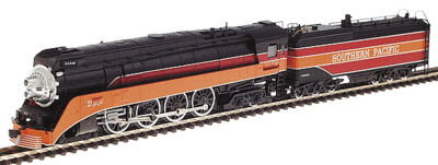 """""""N"""" Southern Pacific Daylight 4-8-4 Steam Locomotive """"4450"""""""