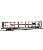 N Scale 89' Tri-level Open Auto Rack Southern