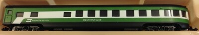 N Scale Con Cor Burlington Northern Observation Passenger Car