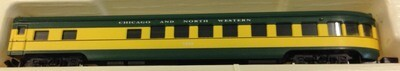 N Scale Con Cor Chicago and North Western Observation Passenger