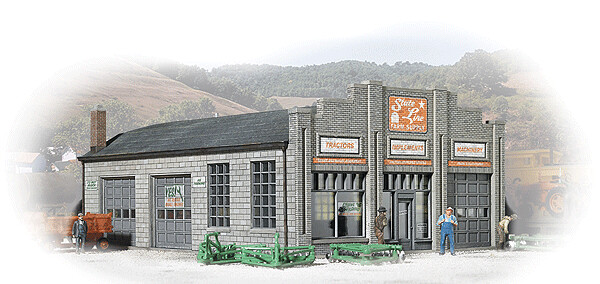 N Scale Walthers Cornerstone State Line Farm Supply