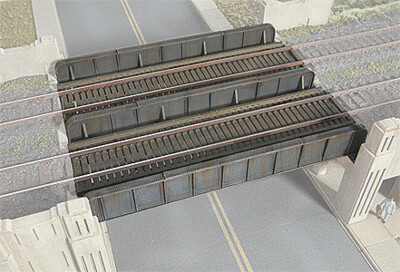 N Scale Walthers Cornerstone Through Plate Girder Bridge