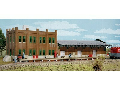 N Scale Walthers Cornerstone Water Street Freight Terminal
