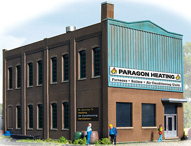 N Scale Walthers Modulars Paragon Heating