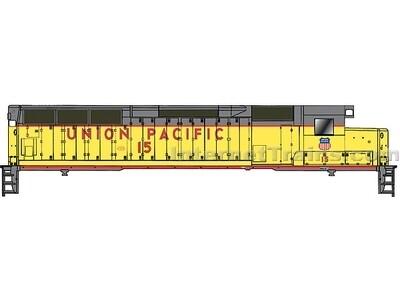 """""""HO"""" Proto 2000 SD45 Union Pacific #3609"""