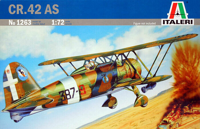 1:72 Scale CR.42 AS #1263