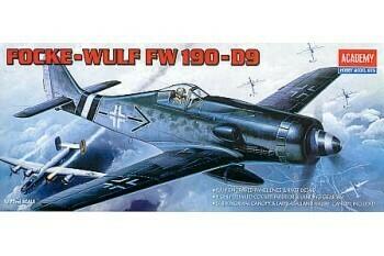 1:72 Scale Focke-Wulk FW 190 - D9 #1660