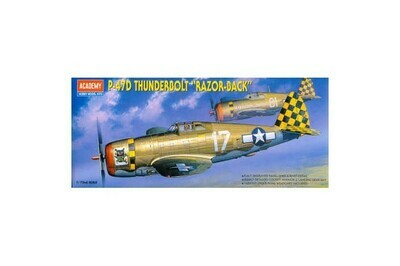 "1:72 Scale P-47D Thunderbolt ""Razor-Back"" #2175"