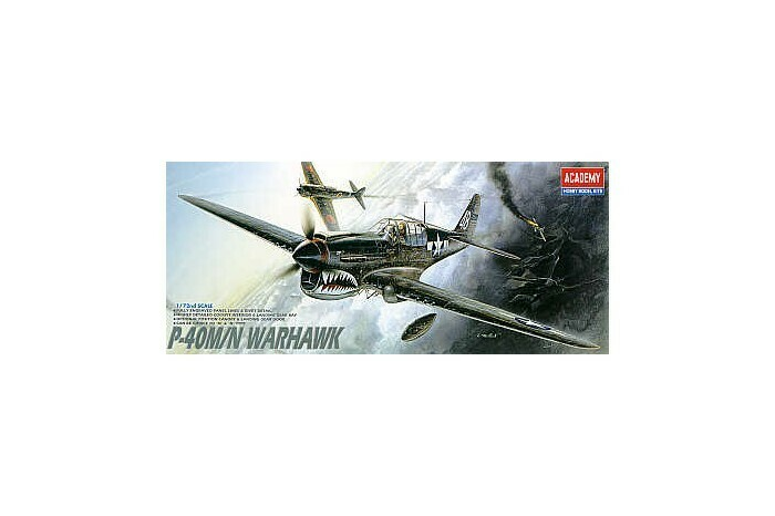 1:72 Scale Curtiss P-40M/N Warhawk #1668