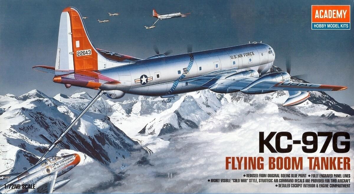1:72 Scale KC-97G Flying Boom Tanker #1605