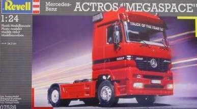 1:24 Scale Mercedes-Benz Actros