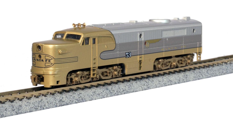Kato Alco PA-1 ATSF #53L 'Gold Bonnet'