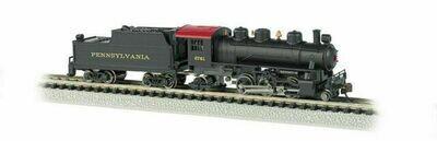 Bachmann 'N' Steam 2-6-2 Prairie + Tender PRR# 2671
