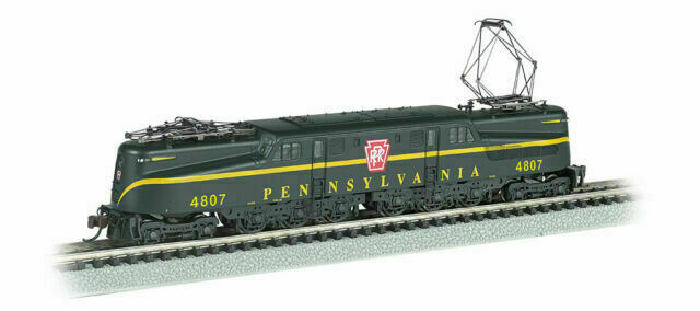 Bachmann GG1 #4807 PRR Brunswick Green Single stripe DCC & Sound