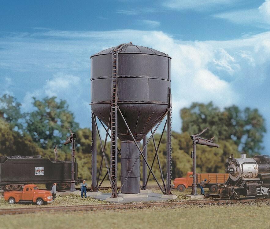 N Scale  Steel Water Tank Kit