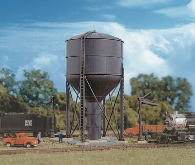 N Scale  Steel Water Tank Kit