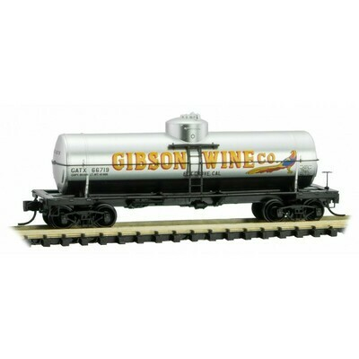 'N' 39' SD Tank Car-Gibson Wine #66719