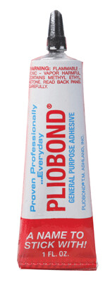 Pliobond Cement Fine tip tube 1 oz