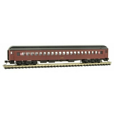 'N' Single Window Coach-PRR Tuscan #1301