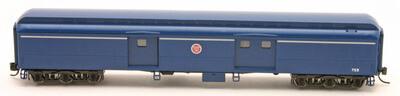 70' Hwt. Express Baggage Missouri Pacific 2 pk #754, #757 6 wheel trucks