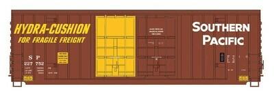 "N Scale 50"" Double Door Gunderson Box Car - SP #227950"