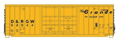 N Scale 50' Double Door Gunderson Box Car - D&RGW  #62018
