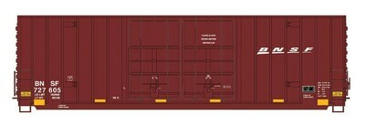 N Scale 50' Double Door Gunderson Box Car - BNSF  #727622