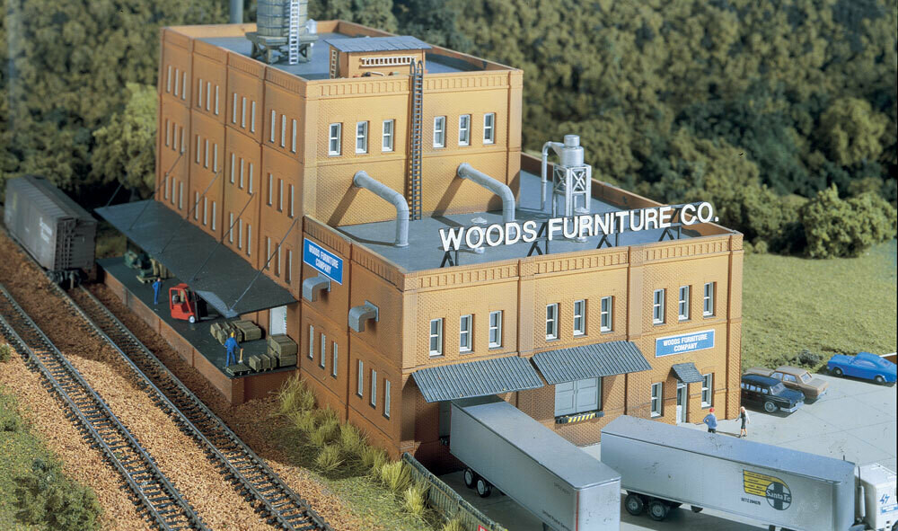 N Scale Woods Furniture Co Kit