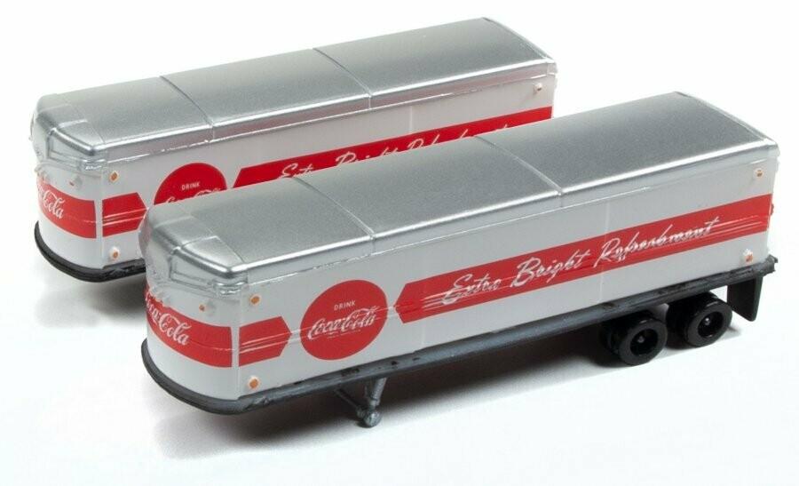 N Scale AeroVan Trailer 1940's/50's - Coca-Cola