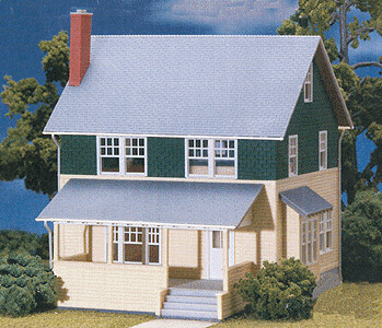 N Scale Kate's Colonial Home Kit